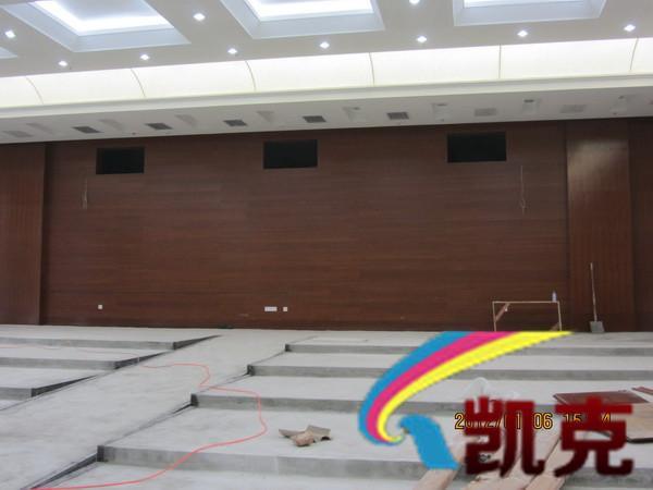 酒店声学工程设计安装施工现场