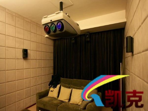 家庭影音室声学工程设计使用各种吸音减震材料来达到比较好的室内音效效果