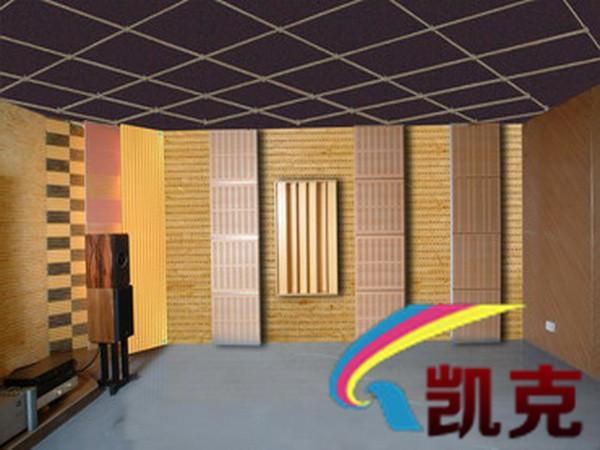 别墅私家影院木质吸音板装修