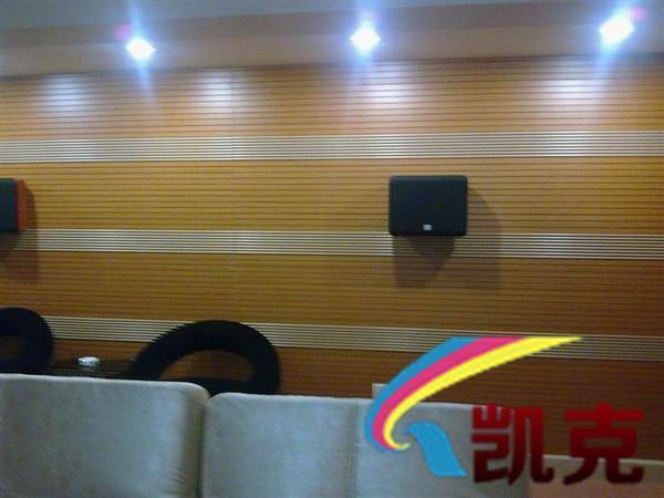 吸音吸声材料广泛应用于现代化的室内装修装饰