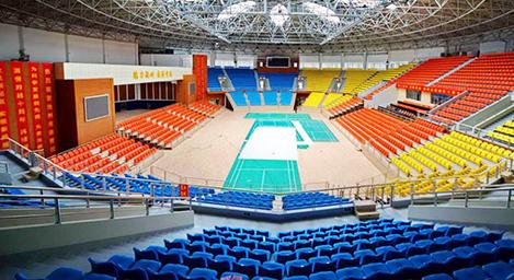 体育馆喷涂,会场中心吸声装饰板,大剧院木丝吸音隔音工程案例